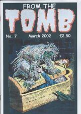 FROM THE TOMB MAGAZINE FANZINE # 7 HORROR COMICS MATT FOX LOU MORALES POST CODE