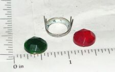 Wyandotte Van Lines Trailer Red/Green Jewels Toy Parts WYP-006