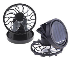 Portable Clip-on Solar Cell Fan Sun-Powered energy-saving Panel Cooling Cooler