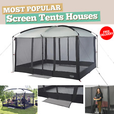 Magnetic Screen House Gazebo Tent Automatic Closure Outdoor Bug Free Picnic