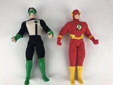 "DC Comics Green Lantern and Flash 12"" Action Figures 1998 Hasbro"