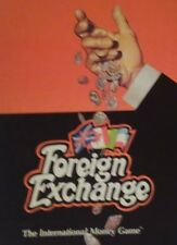 Vintage Foreign Exchange Avalon Hill 1979 Game International Money Game