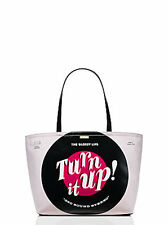 NWT Kate Spade 'Jazz It Up' Turn It Up Record Francis Handbag, PXRU7054