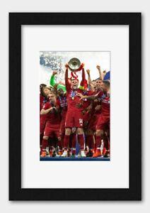 Liverpool - Jordan Henderson Champions League Final 2019 Poster