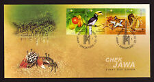 Singapore Stamp FDC 2004 Chek Jawa Care for Nature SG122730