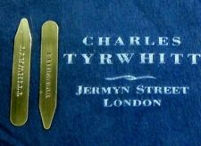 CHARLES TYRWHITT Superior polished pairs of solid brass collarstays.