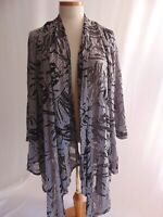 Ruby Rd Womens Plus 2X Open Front Cardigan Jacket Shrug Blouse Top