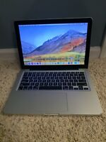 Apple MacBook Pro 13.3 | Intel Core i7 2.7GHz | 16GB |  500GB SSD | 500GB USB HD