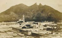 MONTERREY - Vista Parcial Monterrey Real Photo Postcard rppc - Mexico - 1920