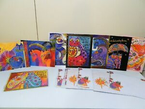 Colorful Laurel Burch Greeting Cards Variety Blank Birthday Thank You Cats Stars