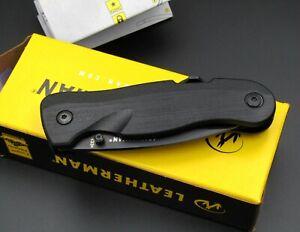 Leatherman Taschenmesser CRATER / Messer (schwarz), EDC