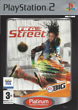 FIFA STREET for Playstation 2 PS2 - with box & manual - PAL - Platinum