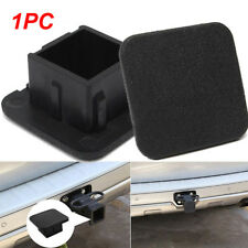 "Rubber Car Kittings 1-1/4"" SUV Black Trailer Hitch Receiver Cover Cap Plug PARTS"