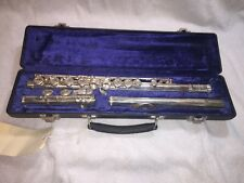 Used Emerson closed hole Flute Silver Head USA made offset G L Key
