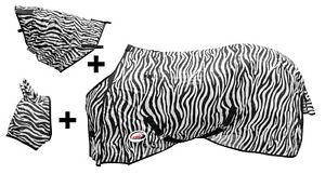 Couverture Zèbre Été à Maille Pour Insectes Plein De Barb Wire Et Masquer