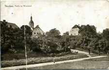 Ancient Ak, Nerchau, Section in Meadow Valley with View on the Church