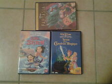 24922/LOT 3 DVD DISNEY LILO & STITCH EN TBE + FANTASIA 2000 NEUF +TARAM EN BE
