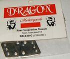 Dragon Motorsports Team Associated Chrome Aluminum Rear Suspension Mounts T3