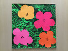 """Andy Warhol, """"Flowers"""", first solo show at Leo Castelli invitation mailer (1964)"""