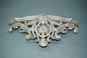 Silver Wall Bracket 45 CM Shelf Console Wandpodest Antique Style Baroque