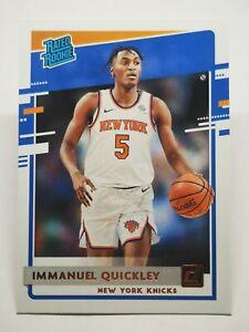Panini Donruss 2020-21 N4 NBA IMMANUEL QUICKLEY Rated Rookie 213 New York Knicks
