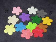 polyester wool blend Felt Flower pattern DIY Shape Felt (4.5 x 4.5cm)
