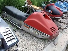 1976 Rupp Sport 340 Fan Vintage Snowmobile Parts Sled