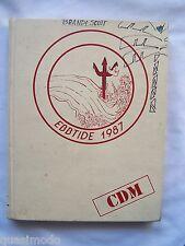 1987 CORONA DEL MAR HIGH SCHOOL YEARBOOK, NEWPORT BEACH, CALIFORNIA.    EBBTIDE