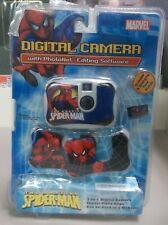 AMAZING SPIDER-MAN Digital Camera 3 IN 1 W/ 3 Face Plates Webcam & Video NEW NIP