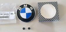 Logo badge embleme bmw capot avant 82mm E39 E46 E53 E60 E61 E70 E71 E81 E87 E90