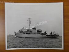 Original Us Navy Survey Ship (Minesweeper) Photograph 8x10 Ags-27 Uss Kane