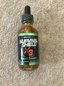 SURVIVAL SHIELD X-3 2 OZ. BOTTLE (59.1ML)BIGGER BOTTLE