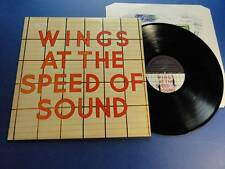 WINGS  AT THE SPEED OF SOUND mpl 76 A-5U B-5U LP EX/EX
