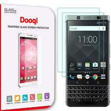 2X Dooqi Blackberry Keyone Premium Ultra Clear Tempered Glass Screen Protector