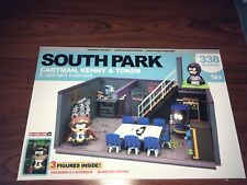 McFarlane South Park Cartman, Kenny & Token & Cartman's Basement 338 pcs NEW