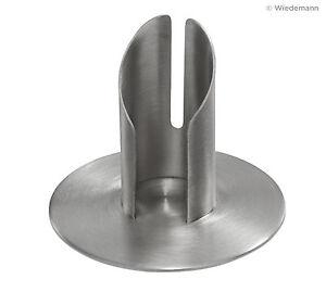 Kerzenständer Metallleuchter Silber für Ø30mm Taufkerze Kommunionkerze Topseller