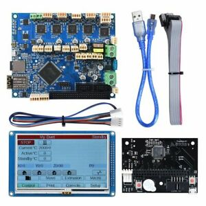 Duet 2 WIFI V1.04 Control Board +4.3'' Panel Due Touch Screen for SKR V1.3