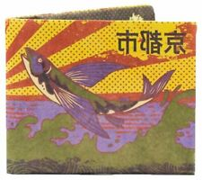 Paper Wallet Mens Iconic Kyoto Slim RFID Wallet - Yellow/Purple/Green