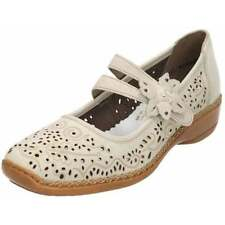 Standard (D) Width 100% Leather Textured Flats for Women