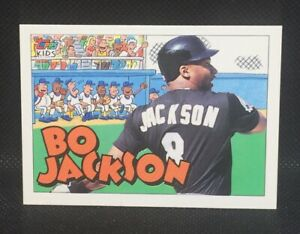 Royals Gift White Sox Gifts for Boyfriend Gift Gifts for Him Baseball cards Gifts for Men 1987 Topps Bo Jackson ROOKIE CARD Raiders