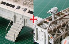 Space 1999 Eagle STAIRCASE & LASER resin model kits COMBO (Product Enterprise)