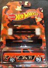 Hot Wheels Super CUSTOM 83 Chevy Silverado with Real Riders Walmart Exclusive