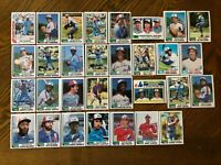 1982 MONTREAL EXPOS Topps COMPLETE MLB Team Set 31 Cards RAINES CARTER DAWSON
