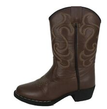 CanyonTrails kids boy's lil cowboy brown boots