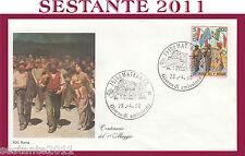 ITALIA FDC ROMA 1990 1° PRIMO MAGGIO CENTENARIO  ANNULLO MATERA H511