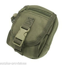Condor MA26 Tactical Gadget Pouch Holds tools, iphone, camera etc - OD Green