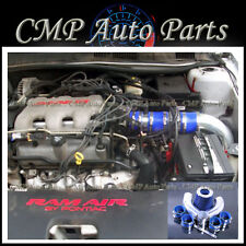 BLUE 1999-2005 OLDSMOBILE ALERO PONTIAC GRAND AM 3.4L AIR INTAKE KIT SYSTEMS