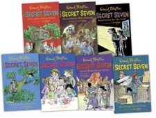 Enid Blyton Collection Secret Seven Series 7 Book (Vol 1 to 7) Paperback English