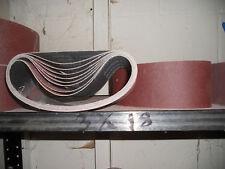 "3"" x 18"" sanding belts 36 grit qty 10"
