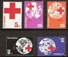 Nederland    Nummer  1015/1019   Postfris.